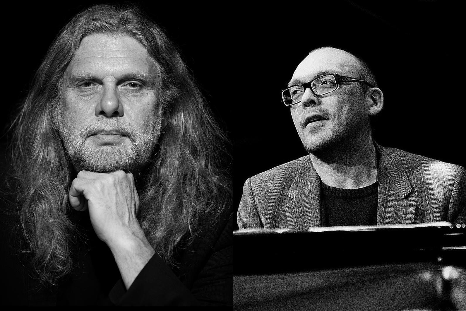 Arne O. Holm og Bugge Wesseltoft